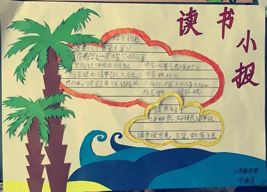 读书小报_二年级手抄报图片大全 (50字)